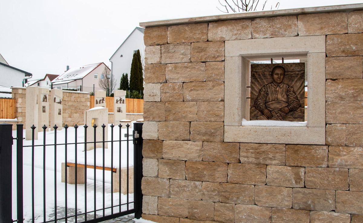 Heilige Anna Schäfer, Anna Schäfer Garten, Weihnachten,