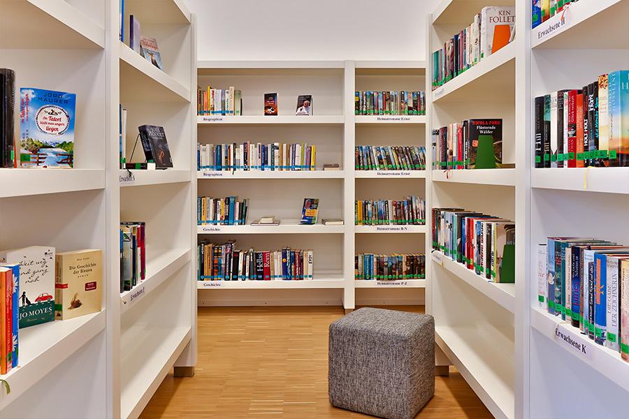 Einrichtung, Bücherei, Bibliothek,