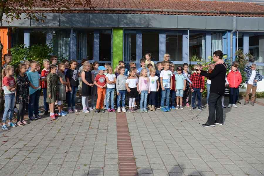 Singen, Kinder, Grundschule, Unterricht,